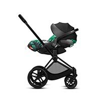 wózek 2w1 Cybex Priam Birds of Paradise travel system montaż fotelika Cybex Cloud Z i Size