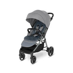 Baby Design Wave 2021 07 Grey Wózek spacerowy