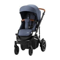Britax Romer Smile 3 Indigo Blue Brown Wózek spacerowy