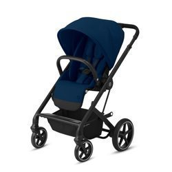 Cybex Balios S Lux Wózek Spacerowy Navy Blue - Black