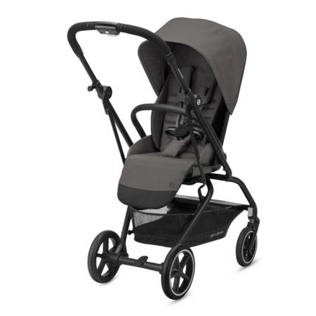 Cybex EEZY S TWIST + 2 Soho Grey 2020 Wózek spacerowy